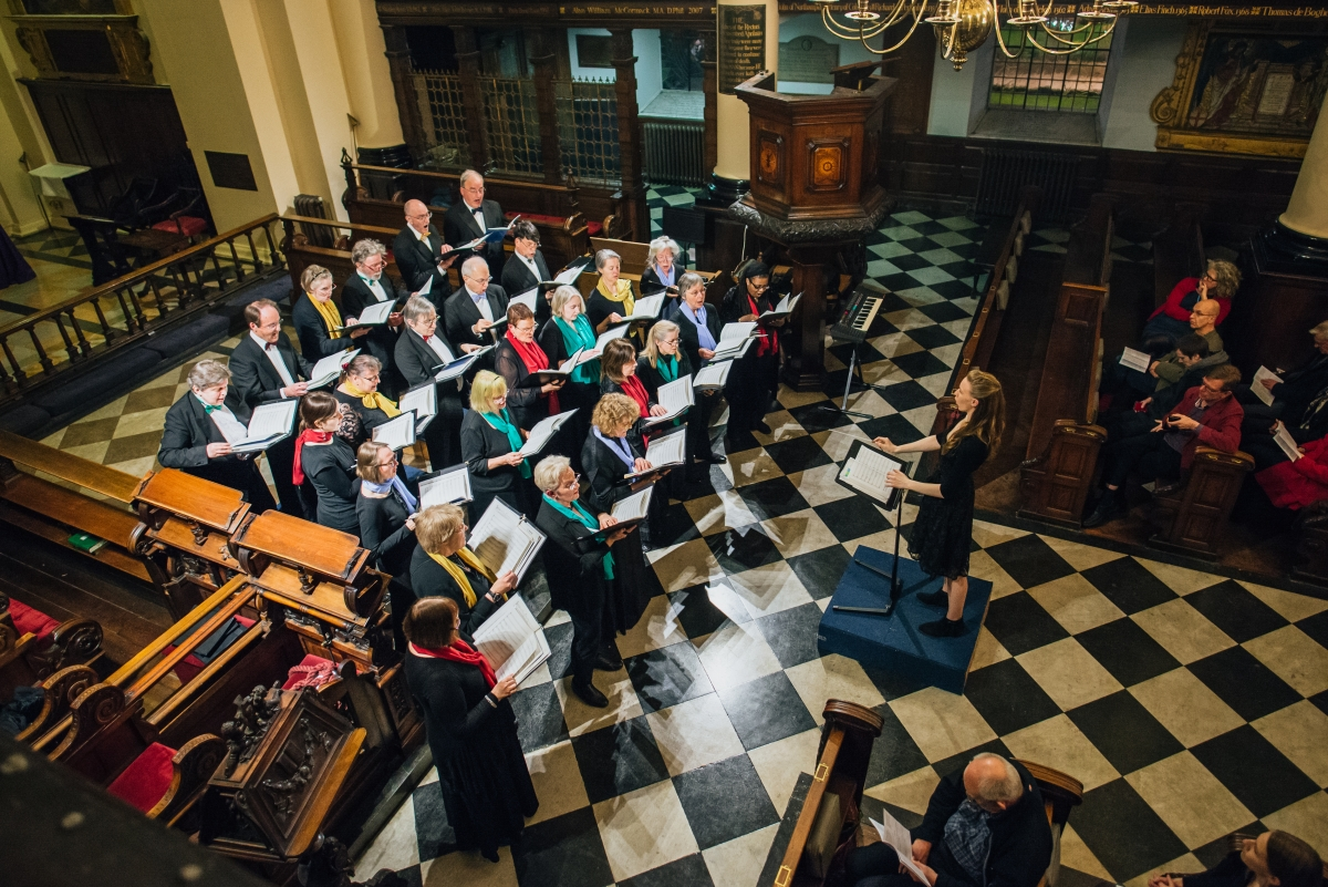 London Concord Singers, 2016